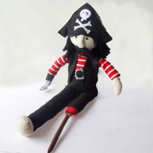 pirata muñeco