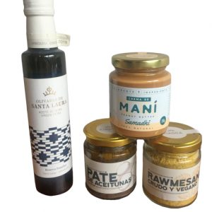 KG4S pack aceite pate rawmesano maní